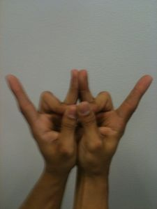 Vice Lord Gang Signs http://es.stophoustongangs.org/default.aspx?act=frontpage.aspx&name=Gang+Hand+signs